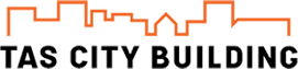 TAS CITY BUILDING Logo